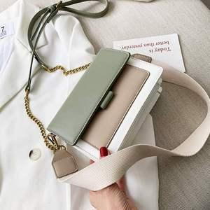 Image 1 - HOCODO 2019 חדש עור Crossbody שקיות נשים כתף שליח תיק מיני נשים נסיעות תיק פשוט גבירותיי צלב גוף תיק