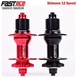 FASTACE DA201 MTB Hubs QR 135x10mm 100x9mm 32H Bicycle Hub MS Micro spline Hub For Shimano 12 speed DEORE XT M8100 M7100 M6100