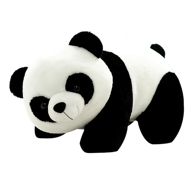 20cm Stuffed Plush Doll Toys Animal Cute Panda Comfortable Soft Lively Hot New Friend-child interaction Toy Gift For Children