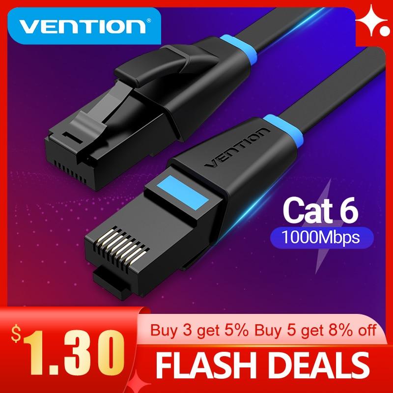 Vention Ethernet кабель Cat6 Lan кабель UTP RJ45 сетевой патч-кабель 10 м 15 м для PS PC интернет-модем маршрутизатор Cat 6 кабель Ethernet