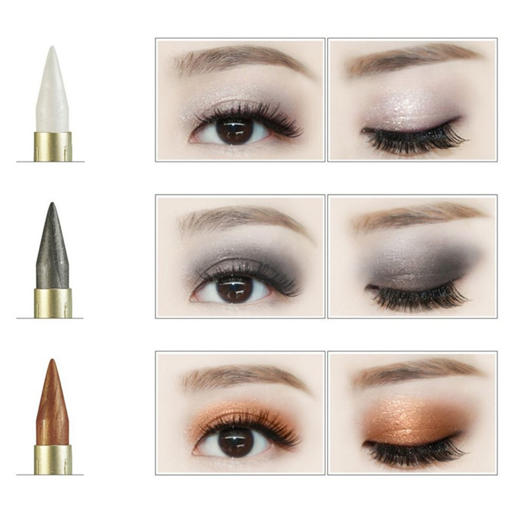 Beautiful Dual Purpose Pen Thread Flexible Eye Liner Soft Eye Shadow Paste