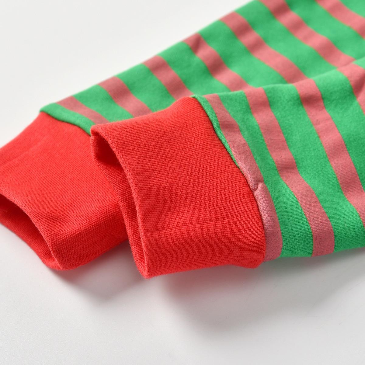 2019 Autumn Children Tracksuit Card Animal Cartoon Pajamas Childrenswear Pajamas Christmas CHILDREN'S Suit Air Conditioning Clot