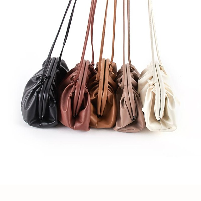 Bag For Women Cloud bag Soft Leather Madame Bag Single Shoulder Slant Dumpling Bag Handbag Day Clutches bags Messenger Bag 3