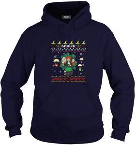 Amuck уродливая Рождественская Футболка Мужская и Женская толстовка с капюшоном