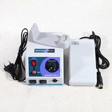 Pulidor de Micromotor N7 con sistema de Control de Pedal Variable, Laboratorio Dental, Marathon, multiusos