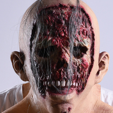 Cosplay Halloween Mask Latex Party Mask Adult Scary Horror Costume Fancy Dress Scary Mask Halloween