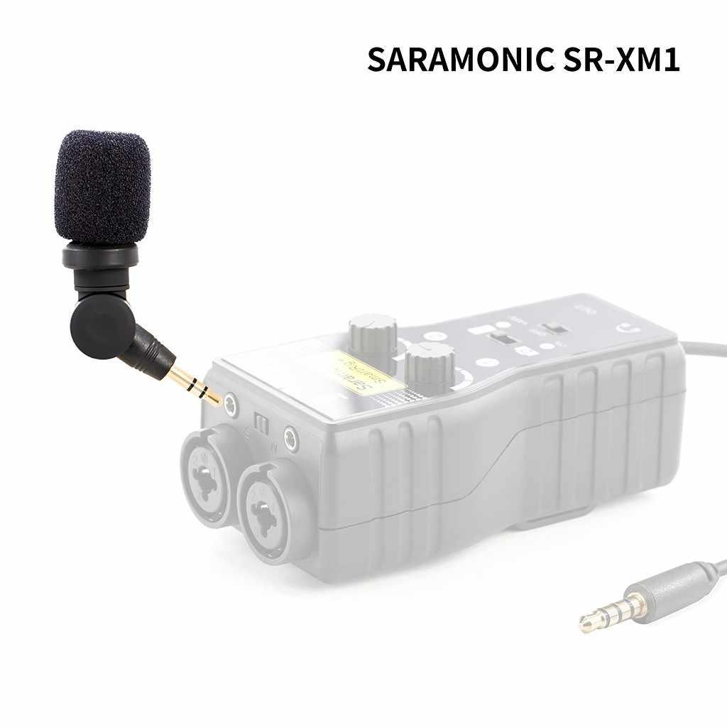 Высококачественные носимые устройства Saramonic SR XM1 3 5 мм TRS всенаправленный