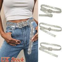 Meihuida Women Fashion Shiny Belt Waist Chain Crystal Diamond Alloy Waistband Full Rhinestone Luxury Wide Party Belt 1