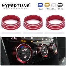 Climatisation bouton couvercle décoratif anneau ajuster revêtement d'habillage pour VW Tiguan Atlas t-roc Ateca FR Passat B8 Variant 2017-2019