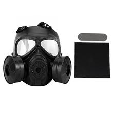 מלא פנים גז מסכת צבאי מציאות CS שדה מגן קסדת קומנדו masque a gaz הנשמה מסקרה דה גז טחונים