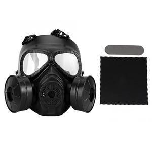 Image 1 - Полнолицевая противогаз, военная реальность, CS полевой защитный шлем, командировочная маска, респиратор, тушь для ресниц, газ, военная маска