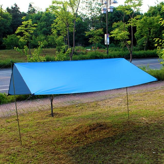 Waterproof Awning Sun Shade Sunscreen Tent Tarp For Outdoor Camping Picnic Patio Garden Decoration 100% High Quality Guarantee 1