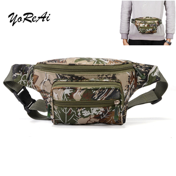 цена на YoReAi Funny Bags 2020 Newest Hot Travel Bag Bumbag Waist Money Belt Passport Wallet Zipped Security Pouch Camouflage Waist Pack