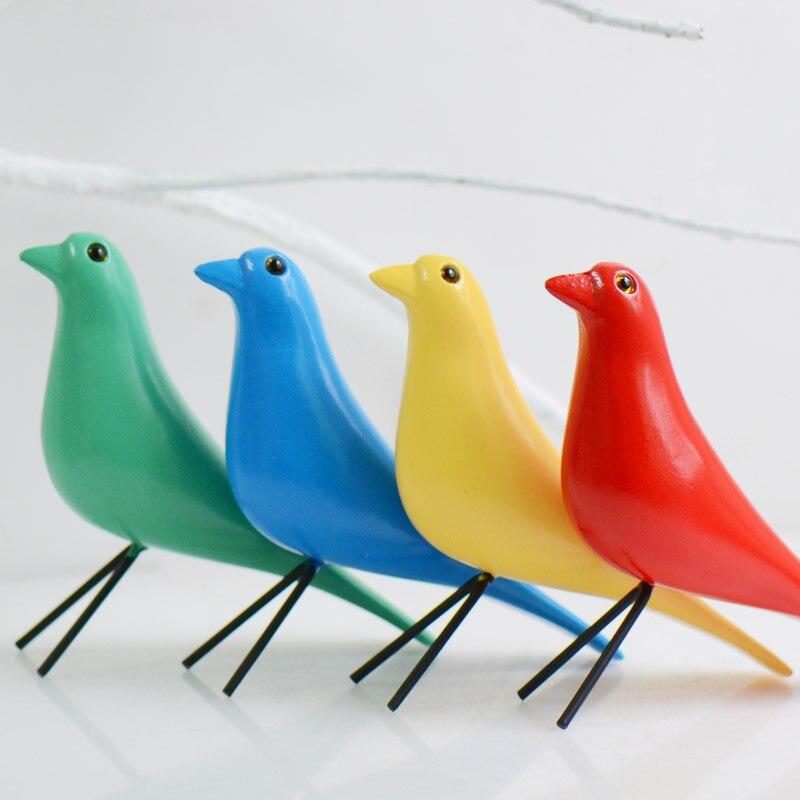 Art Ornament Bird Wall Hanging Wood Art Block Pigeon Radio
