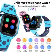 680 MAh Y95 חכם שעון HD וידאו שיחת 4G מלא נטקום עם AI תשלום WiFi לשוחח GPS מיצוב שעון לילדים מתנות