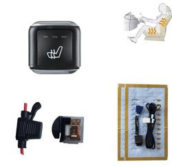 Newest 12 v seat heating For Mercedes Benzl 3 level switch fiber heated  car seat heater for any 12V interior  Seat Covers