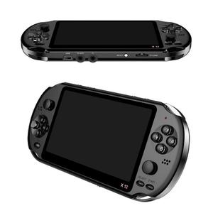 X12 Portable Handheld Game Console 5.1 Inch 8GB Console Player Bulit In 10000+ Games Console 8GB Gamepad Support TF Card
