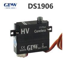 GDW DS1906 AB דאון DLG F3K במהירות גבוהה כל מתכת דיגיטלי מיני ציוד היגוי 8g מחליף KST X08
