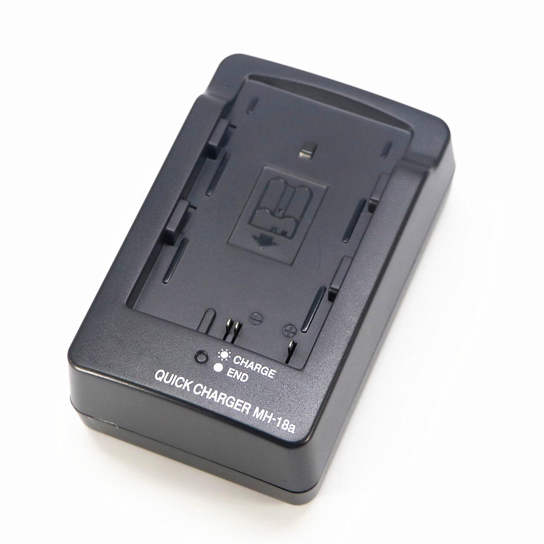 Battery Mh18a-Batteries-Charger Nikon D70 En-El3e MH-18A Camera for En-el3a/En-el3e/Battery/..