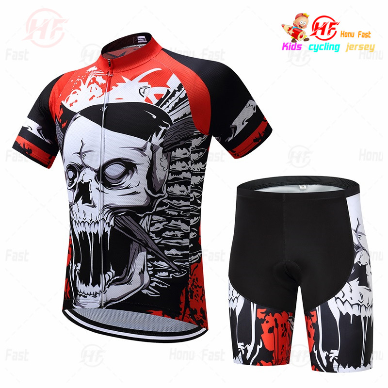 2020 new kids cycling jersey set clothing <font><b>bike</b></font> <font><b>wear</b></font> 3d gel pad shorts Children Breathable cycling clothing ropa ciclismo maillot image