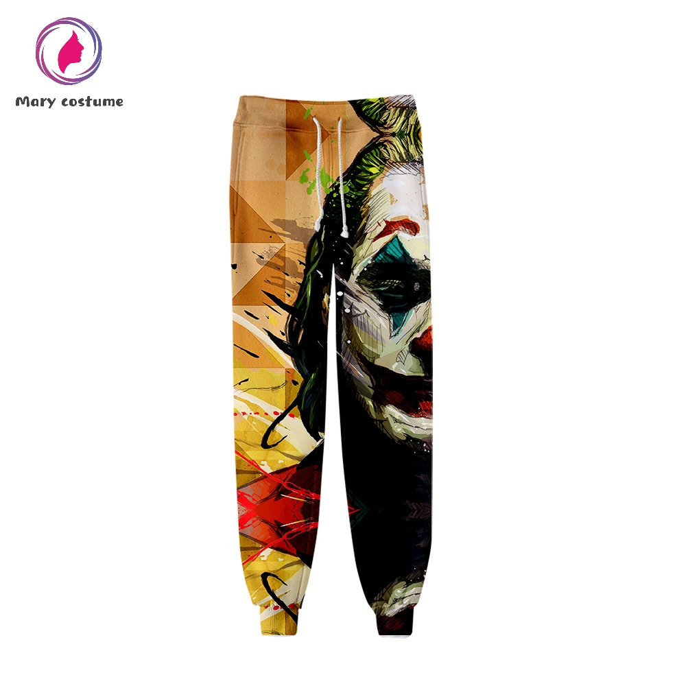 Joker Movie 2019 Men's Sweatpants High Quality Sports Tight Trousers Fashion Popular Trend Comfortable Casual Pants