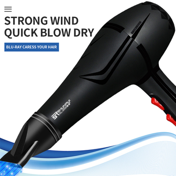 2200w Household Hair Dryer High Power Professional Hair Styling Haircut Tool Anion Fan Blow Dryer Travel Electric Hair Dryer New 2200w power hair dryer professional salon blow dryer 2200w hairdryer styling tools salon household use hairdresser blower hair