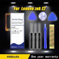 Da bateria da xiong 4900 mah bl268 para a bateria do telefone de lenovo zuk z2 z2131