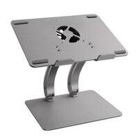 大調整可能な usb ハブ冷却ファン、錠ブックノートブック冷却ホルダー macbook air/プロ 11-17 インチ