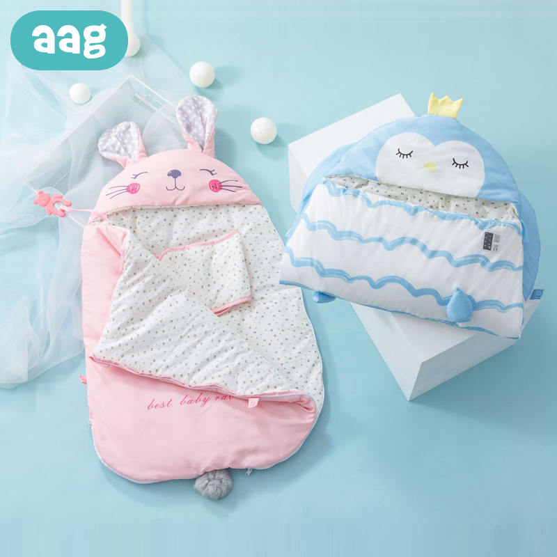 AAG Baby Sleeping Bag Swaddle Stroller Envelope For Discharge Newborns Diaper Cocoon Maternity Hospital Discharge Kit Sleepsack