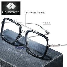 Optical Computer Glasses Men Frame Anti Blue Light Blocking Prescription Eyeglasses Frame Myopia Clear Gaming Spectacles Frame