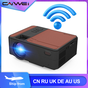 HD Mini Projector Native 1280 x 720P LED Android 6.0 WiFi Projector Home Cinema Movie Game Proyector Wireless Sync Display
