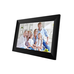 P100 WiFi 10.1 Inch Digital Picture Frame 1280 x 800 IPS Press Screen 1G+16G Smart Photo Frame APP Control with Detachable Holde