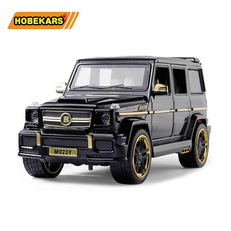 Brabus G65 1:24 Model Car Diecast Metal Alloy Simulation Pull Back Cars Lights Toys Vehicles For Kids Gifts For Children