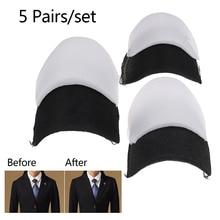 10 штук = 5 пар мягких детских носков с наплечник с мягкой подкладкой Шифрование пены плечевыми накладками для Блейзер футболка одежда аксесс...