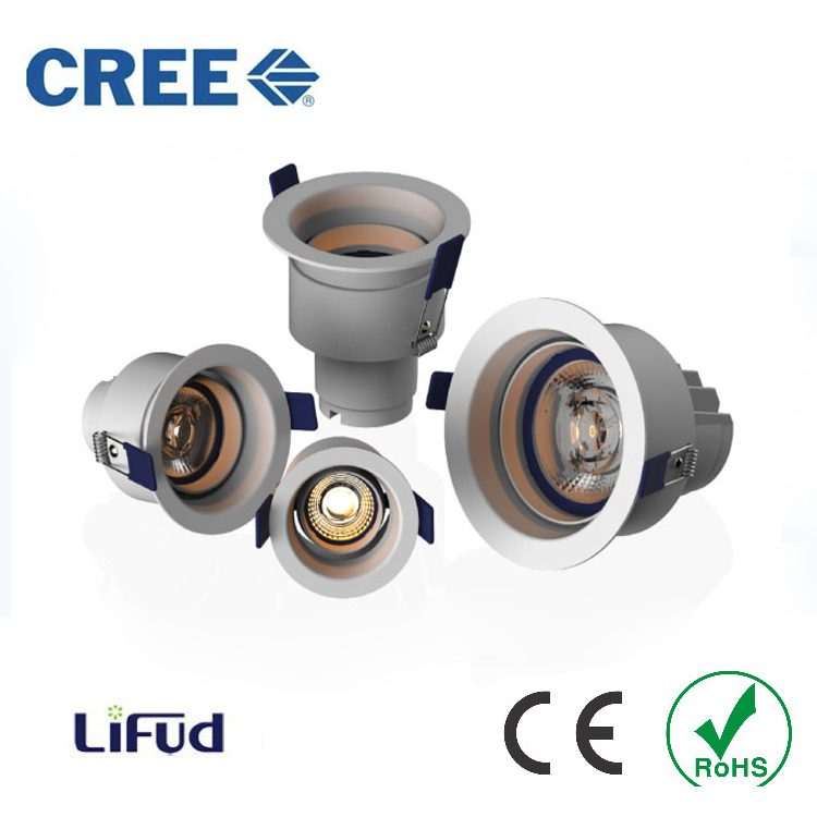 High Power LED Downlights Recessed In 110V 220V 5W/7W/15W/20W CREE Spot Ceiling downlight Spot Kitchen Bathroom Lighting