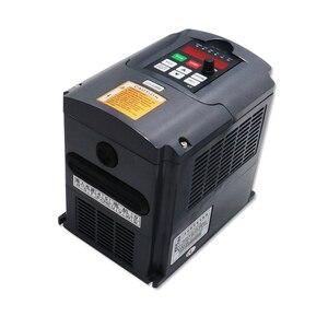 Image 4 - משלוח מהיר חינם 1 סט 2.2 kw 110 v/220 v/380 V אוויר מקורר ציר + VFD + 80mm סוגר + 1 סט ER20 עבור CNC