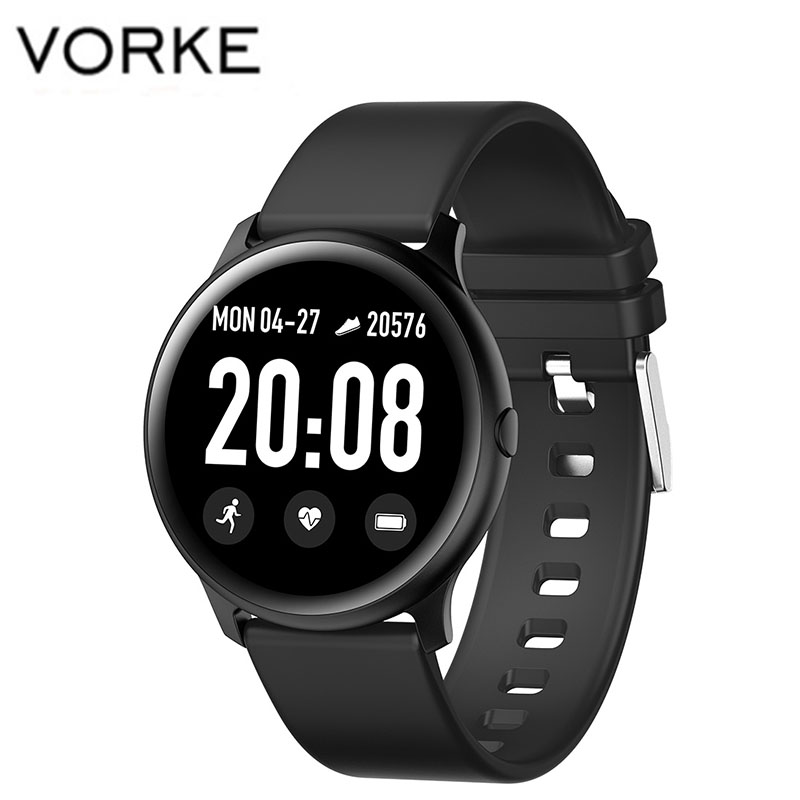 Vorke <font><b>KW19</b></font> Fashion <font><b>Women</b></font> <font><b>Smart</b></font> <font><b>Watch</b></font> Waterproof with Heart Rate Monitor Blood Oxygen Measure Sport Fitness Tracker image