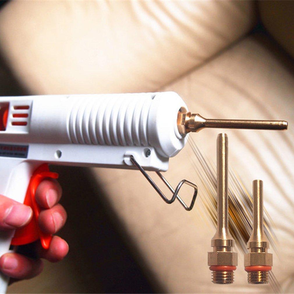 20Pcs Sausage Caulking Nozzle Gun Glass Glue Caulking Plastic Nozzles Tools USA