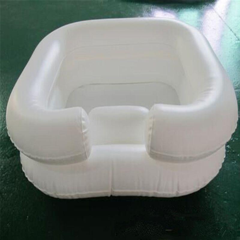 Shampoo condicionador inflável bacia cuidados idosos lavagem