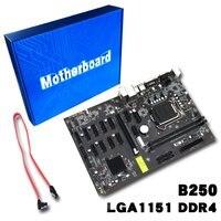 For Asus B250 MINING EXPERT Original Used Desktop Intel B250 B250M DDR4 Motherboard LGA 1151 i7/i5/i3 USB3.0 SATA3