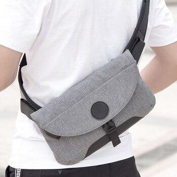 Νέα μόδα crossbody τσάντα με υποδοχή για usb.