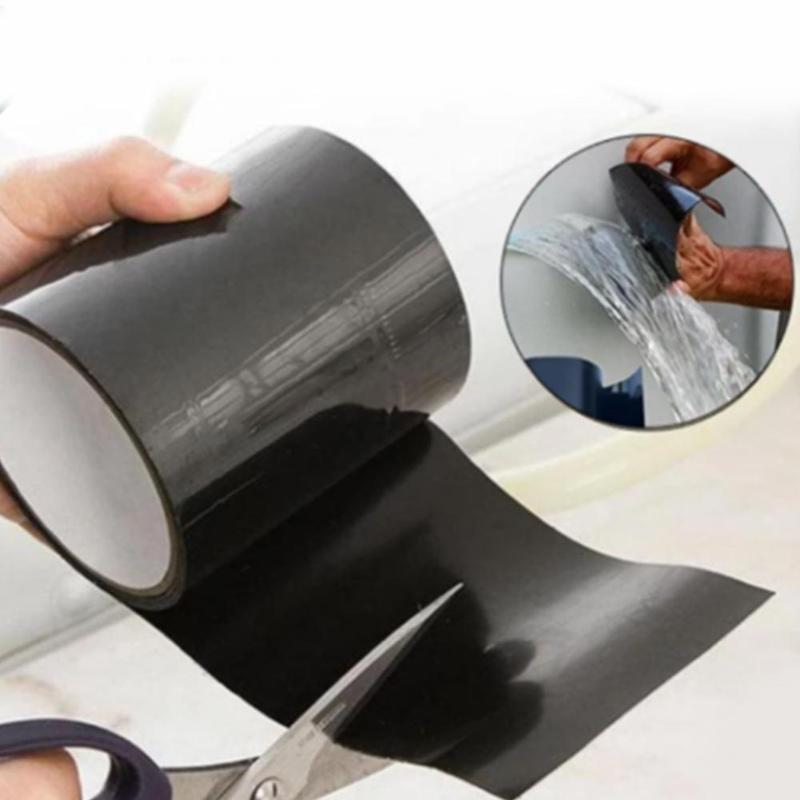 Home Leak Repair Patch With Quick Leak Proof Super Strong Waterproof Tape Waterproof Tape Water Taps Garden Hose Pipe Repairing