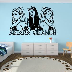 Large Ariana Grande Music Wall