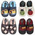 Детская обувь Carozoo, тапочки, мягкая кожаная обувь для маленьких мальчиков и девочек