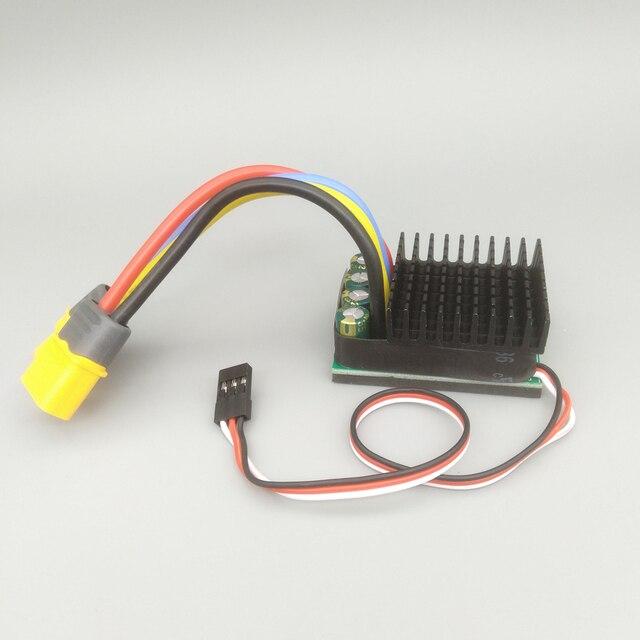 480A/960A דו כיוונית מברשת ESC 10v 32v 24v 6S חשמל מהירות בקר עבור DIY RC ההפרש מסלול טיפוס מכוניות סירה
