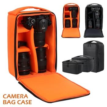 DSLR Camera Bag Multi-functional Waterproof Outdoor Video Digital Carry Photo Bag Case for Camera Nikon Canon DSLR zap universal stylish canvas carrying bag for camera dslr khaki