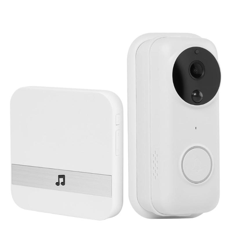 B70 Smart WiFi Video Doorbell Support Full-duplex Real-time Calls Call The Police HD 1080P Door Bell Cam PIR Motion Detection