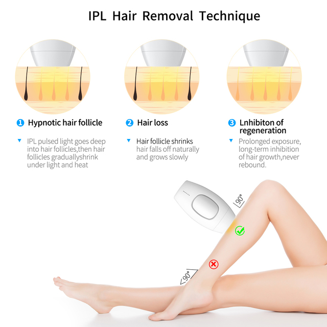 600000 flash professional permanent IPL epilator laser hair removal electric photo women painless threading hair remover