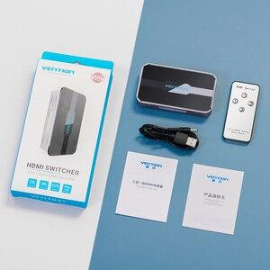 Image 5 - Ventie Hdmi Switch 4K 3 In 1 Out HDMI2.0 Switcher Splitter Met Afstandsbediening Schakelaar Voor PS4 Pc Tv xbox 2.0 Hdmi Adapter