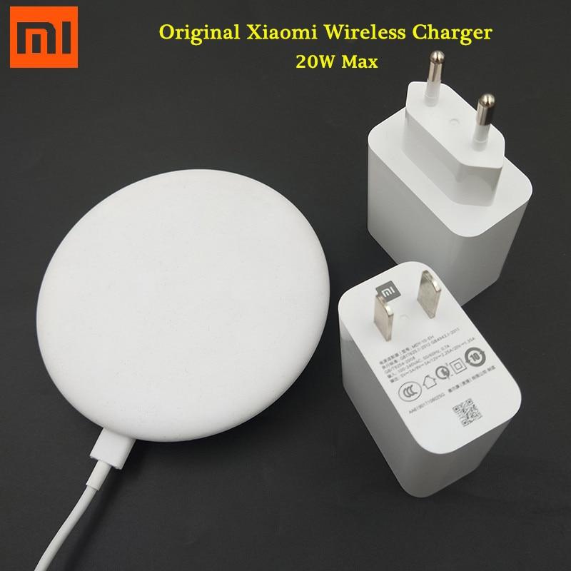 Original Xiaomi Mi9 Wireless Charger 20W Max Turbo USB Charge Plug Mi 9 Pro Mix 2S 3 Adapter Qi Pad For IPhone 11 8 XS XR XS Max